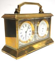 Fine Antique French 8-day Combination Thermometer, Clock & Barometer Carriage Clock Timepiece by Frodsham c.1890 (10 of 10)