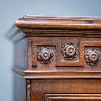Mahogany & Burr Walnut Glazed Bookcase (4 of 11)