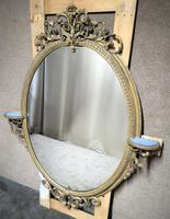 Victorian Gilt & Gesso Overmantle Mirror c.1870 (4 of 11)