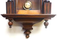 Fantastic Rare Victorian 8-day Wall Clock – Small Antique Striking Vienna Wall Clock (4 of 17)