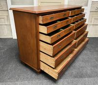Very Rare Double Military Chest of Drawers (11 of 21)