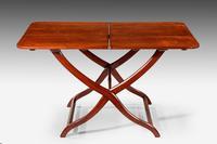 Unusual 19th Century Mahogany Coaching Table (3 of 3)