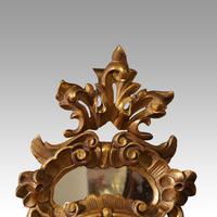 Antique Gilt Florentine Mirror (3 of 6)
