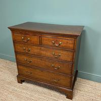 Period Oak Georgian Antique Chest of Drawers (2 of 6)