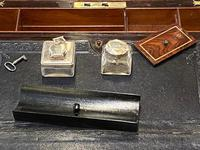 Good Quality Rosewood Writing Slope / Box by the Famous Maker William Eyre (12 of 12)