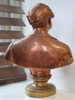 Superb Rare Large 19th Century Photo Sculpture Copper Bust by Willeme (2 of 11)