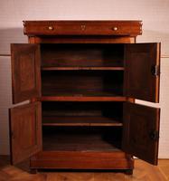 Small 4 Doors Buffet in Blond Oak - 19th Century (5 of 9)