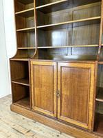 Large 19th Century Antique Oak Bookcase (5 of 11)