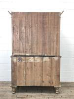 Antique Pine Cupboard with Drawers (11 of 11)