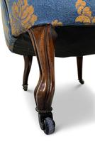 Small Napoleon III Buttoned Tub Chair (6 of 6)