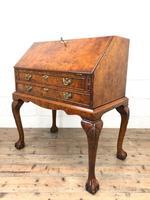 Antique Walnut Bureau (11 of 16)