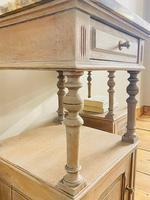 Antique French Bedside Tables / Marble Bedside Cabinets / Nightstands (6 of 7)
