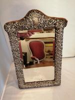 Fine Quality Silver Easel Mirror (6 of 6)