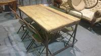 Fabulous Pine Trestle Kitchen Table (10 of 11)