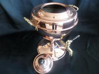 Victorian Samovar / Tea Urn in Copper with Brass Handles professionally polished recently (3 of 6)