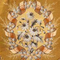 Attractive Late 19th Century Gilded Pole Screen (4 of 4)