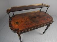 Antique Victorian Coromandel Ladies Writing Desk (7 of 14)