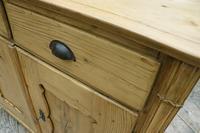 Old Georgian Pine Dresser Base / Sideboard / Cupboard / Cabinet - We Deliver! (7 of 10)