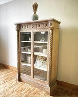 Antique Victorian Bookcase / Cabinet / Bookshelf (2 of 7)