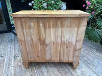 Fabulous & Very Large Old Victorian Pine Chest of Drawers (8 of 8)