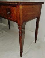 Georgian Mahogany Banded Dressing Table (5 of 9)