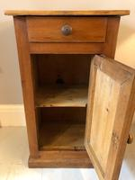 French Pine Bedside Cupboard (4 of 7)