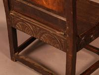 Good 17th Century Wainscot Armchair (10 of 13)