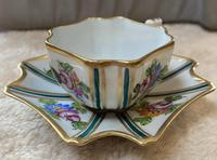 Limoges Hand Painted Cup and saucer. (3 of 4)