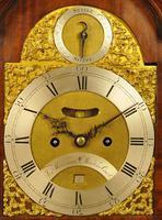 Fine Mahogany Verge Triple Pad Top Bracket Clock - Martineau, London (7 of 13)
