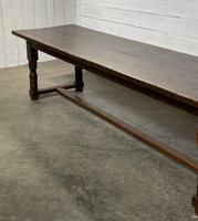 Wonderful Antique Large Refectory Farmhouse Dining Table (6 of 31)