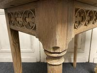 Pair of Bleached Oak Console Tables (6 of 16)