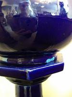 Blue Glazed Jardiniere on Stand (4 of 5)