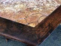 Pair of Oriental Chinese Marble Top Console Tables (7 of 12)