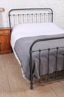 Lovely Simple French All Iron King Size Bed (5 of 7)