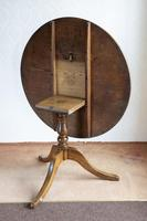 Magnificent Ash Tripod Table - Seat 4 Comfortably (6 of 7)