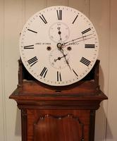 Small Scottish Mahogany Longcase Clock (12 of 12)
