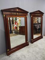 Pair of Large Second Empire Mirrors (2 of 14)