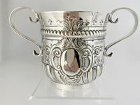 Superb Quality Sterling Silver Loving Cup. Sheffield 1900 (4 of 7)