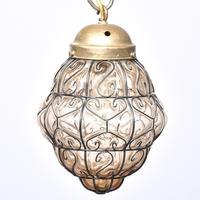 Set of 4 Murano-type Basket Light Fittings (5 of 10)