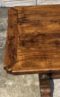 French Oak Farmhouse Refectory Dining Table (9 of 20)