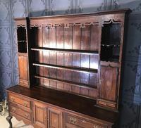 Georgian Style Oak Dresser (3 of 20)