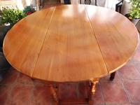 Fruitwood Wake Table extends 6 foot 1920s (9 of 10)