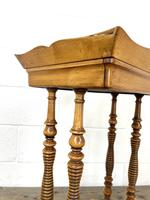 Antique Satin Birch Tray Top Side Table (6 of 10)