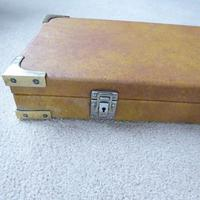 Vintage Wooden Leatherette Covered Shotgun Case (2 of 4)