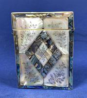 Victorian Abalone & Mother of Pearl Card Case (11 of 11)