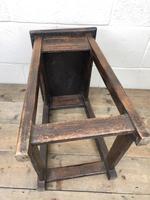 Antique 18th Century Oak Stool (10 of 10)