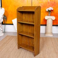 Open Bookcase Bookshelves Carved Beech Wood (5 of 7)