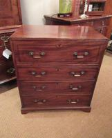Small George III Period Military Secretaire Chest (9 of 9)