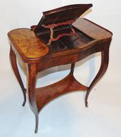 Louis XV Kingwood & Marquetry Poudreuse (12 of 15)