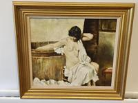 Franco Matania Nude - Italian / British Oil on Canvas (5 of 8)